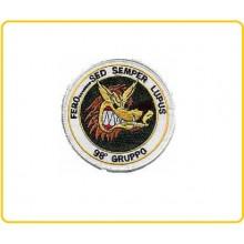 Patch Toppa 98° Gruppo Aeronautica Militare Art.EU070