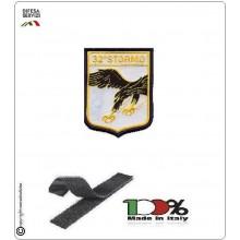 Patch Toppa Ricamata con Velcro 32° Stormo Aeronautica Militare Art.EU104