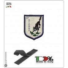 Patch Toppa Ricamata con Velcro Aeronautica Militare 51° Stormo Sorci Verdi Art.EU105