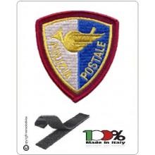 Patch Toppa Polizia di Stato Postale Ricamata con Velcro  Art.NSD-R-PP