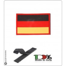 Patch Gommata con Velcro 3D PVC Germania  Art.444110-3514