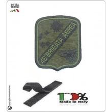 Patch Toppa Ricamata Verde Con Velcro 46° Brigata Aerea Aeronautica Militare Art.EU2002