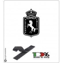 Patch Toppa Ricamata  4° Stormo Aeronautica Militare  Art.EU064