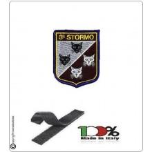 Patch Toppa Ricamata  3° Stormo Aeronautica Militare  Art.EU062