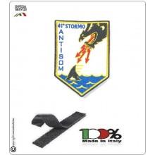 Patch Toppa Ricamata con Velcro Aeronautica Militare 41° Stormo ANTISOM Art.41-S