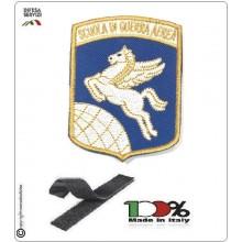 Patch Toppa Ricamata con Velcro Aeronautica Militare Scuola di Guerra Aerea Art.SGA-S