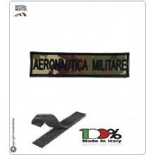 Patch Toppa Ricamata con Velcro Aeronautica Militare da Uniforme VEGETATO Art.AM-VV