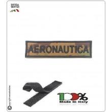 Patch Toppa Ricamata con Velcro Aeronautica da Uniforme VEGETATO Art.A-VV