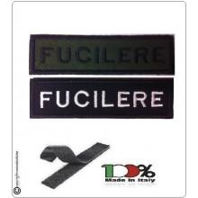 Patch Toppa Lineare Ricamata con Velcro Fuciliere Art.NSD-R4