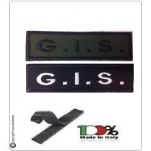 Patch Toppa Lineare Ricamata con Velcro G.I.S. Art.NSD-R9