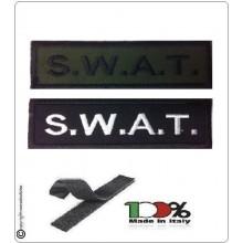Patch Toppa Lineare Ricamata con Velcro S.W.A.T.Art.NSD-R8