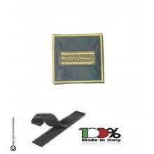 Gradi Velcro per Polo e Tuta OP Guardia di Finanza  Maresciallo Ordinario GDF 6x6 Art.GDF-OP8