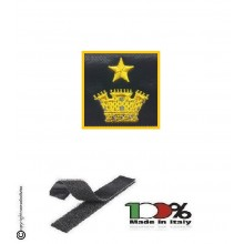 Gradi Velcro per Polo e Tuta OP Guardia di Finanza Maggiore Art.GDF-OP15