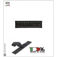 Patch Toppa Ricamata con Velcro Paracadutisti  da Uniforme Verde OD Art.P-T2