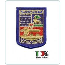 Patch Toppa Ricamata  Sarvam Aeronautica Militare Art.EU258
