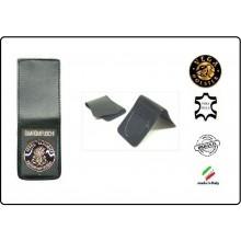 Patella pelle + Fregio per portafogli 1WE Corpo Nazionale Guardiafuochi Vega Holster Art.1WH121
