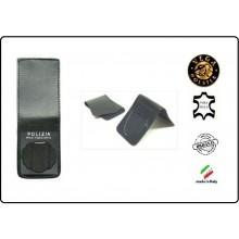 Patella pelle + Fregio per portafogli 1WE Polizia Penitenziaria  Operativi Vega Holster Italia Art.1WH10