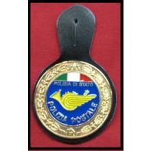 Pendif Specializzazione da Petto Polizia Di Stato PS Reparto Postale Art.FAV-POS