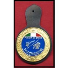 Pendif Specializzazione da Petto Polizia Di Stato Trasmissioni Art.FAV-TRA
