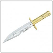 Coltello Militare Baionetta Penna a Sfera e Tagliacarte Idea Regalo Militare Rambo Art.PENNA-COL