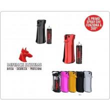 Spray Peperoncino Novità  JUBILEUM 360 Potentissimo Defend Sistem Libera Vendita NERO Art. 99900