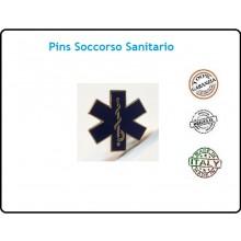 Pins Spilla 118 Esculappio Soccorso Sanitario Art.07626