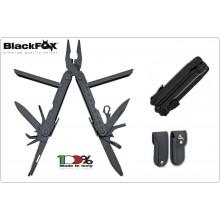 Pinza Coltello Multiuso con Blocco Lama e Fodero Black Fox Maniago Italia BF 200 Art. BF-200