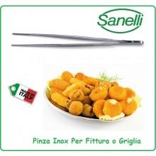 Pinza Cucina Professionale Fritto griglia Chef cuochi cm 28 Sanelli Art.220028
