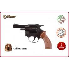 Pistola Kimar Revolver 314 a Salve Calibro 6 mm Prodotto Italiano Art.340.002