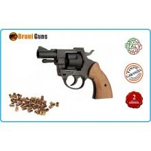 Pistola a Salve Revolver Olimpic 380 Bruni Italia Art.RP030715