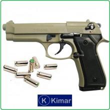 Pistola a Salve Scaccia Cani Beretta 92 Auto 8mm Tan Kimar Italia Art.420.067
