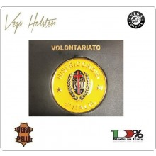 Placca con Supporto Cuoio Da Inserire Al Portafoglio Misericordia Misericordie 1WG Vega Holster Italia Art. 1WG-59