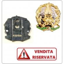 Placca con Clip in Metallo da Portafoglio G.di F. Guardia di Finanza VENDITA RISERVATA Art.GDF-P