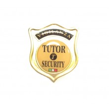 Placca con Clip VIGILANZA TUTOR SECURITY  Art.TUTOR-P1