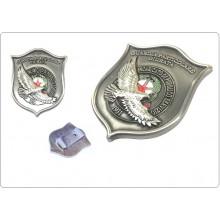 Placca con Clip G.P.G  I.P.S AQUILA® Guardia Particolare Giurata Incaricato di Pubblico Servizio Art.GPG-AQ-1
