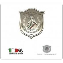 Placca Senza Clip da Incollare  G.P.G - I.P.S PANTERA® Guardia Particolare Giurata Incaricato di Pubblico Servizio Art.GPG-PAN-3