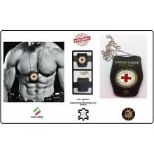 Portaplacca Doppio Uso Collo - Croce Rossa Italiana Vega Holster Italia Art.1WB08-