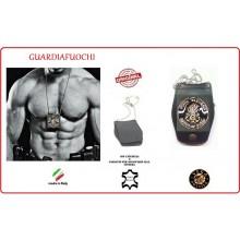 Portaplacca Doppio Uso Collo - Cintura Guardiafuochi Vega Holster Italia Art.1WB121