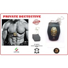 Portaplacca Doppio Uso Collo - Cintura Private Dectective Vega Holster Italia Art.1WB81
