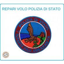 Toppa Patch Ricamata con Velcro Polizia  7° Reparto Volo ABBASANTA Art.PS-VOLO-7