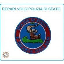 Toppa Patch Ricamata con Velcro Polizia 9° Reparto Volo Bari Art.PS-VOLO-12