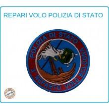 Toppa Patch Ricamata con Velcro Polizia 3° Reparto Volo Bologna Art.PS-VOLO-5