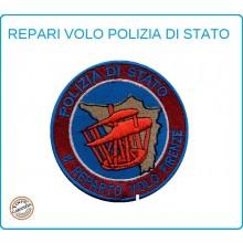 Toppa Patch Ricamata con Velcro Polizia 8° Reparto Volo Firenze Art.PS-VOLO-3
