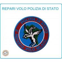 Toppa Patch Ricamata con Velcro Polizia 2° Reparto Volo MILANO Art.PS-VOLO-9