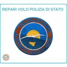 Toppa Patch Ricamata con Velcro Polizia 4° Reparto Volo Palermo Art.PS-VOLO-2