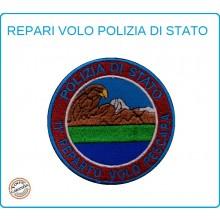 Toppa Patch Ricamata con Velcro Polizia 11° Reparto Volo PESCARA Art.PS-VOLO-8