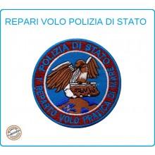Toppa Patch Ricamata con Velcro Polizia 1° Reparto Volo Pratica di Mare Art.PS-VOLO-1