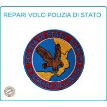 Toppa Patch Ricamata con Velcro Polizia 5° Reparto Volo Reggio Calabria Art.PS-VOLO-4