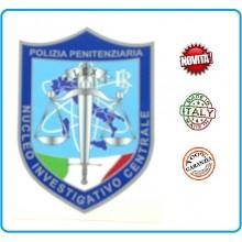 Patch Toppa con Velcro Plastificata Polizia Penitenziaria Nucleo Investigativo Centrale NIC Art.T-PPNIC