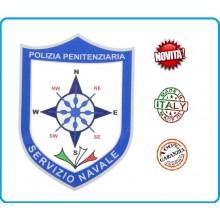 Adesivo o Vetrofania Polizia Penitenziaria Sevizio Navale cm 7.00x10.00 Art.PP-T-A5